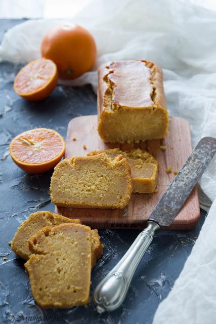 plumcake all'arancia lattosio free
