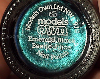 Models Own Emerald Black Beetle Juice