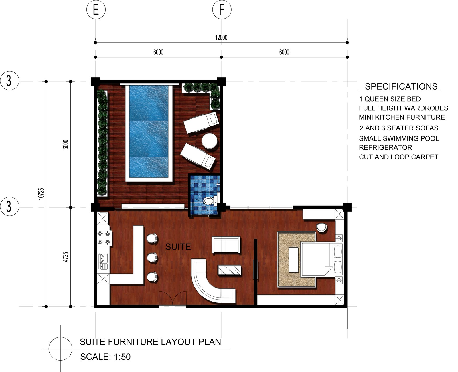 Living Room Design Layout