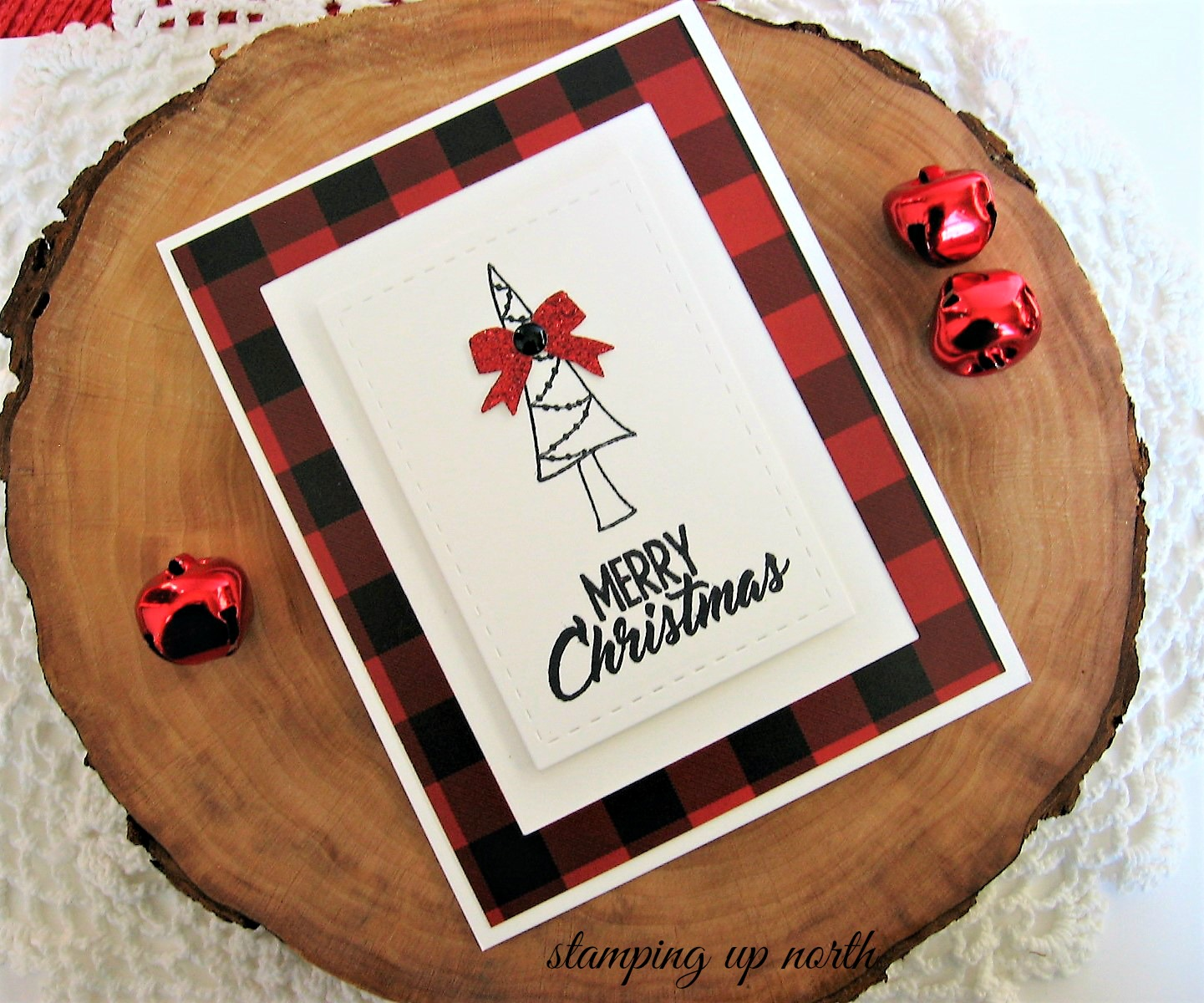Stamping Up North With Laurie Happy Little Stampers December Challenge