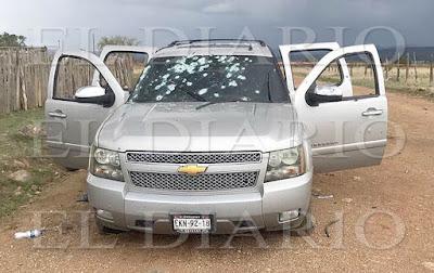 Fotografías; Primeras imagenes del enfrentamiento entre sicarios de 'La Línea' y Cártel de Sinaloa en Las Varas Chihuahua