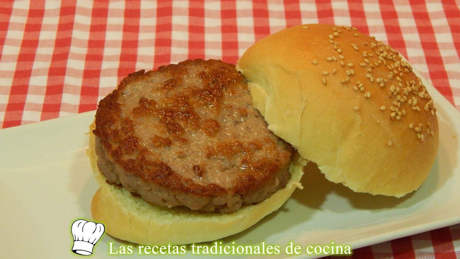 C mo hacer hamburguesas caseras recetas de cocina con - Hamburguesas vegetarianas caseras ...