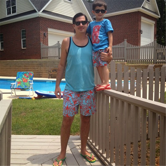 Hello Jack Blog: Tom & Teddy Swim Trunks