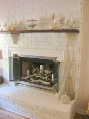 Sure Fit Slipcovers Fireplace Decorating Ideas For The Spring And Summer Seasons
