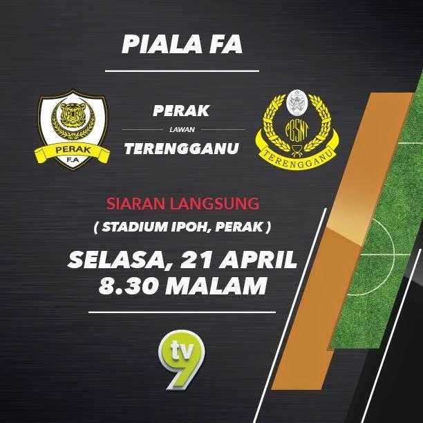 Perak vs Terengganu 21 April 2015
