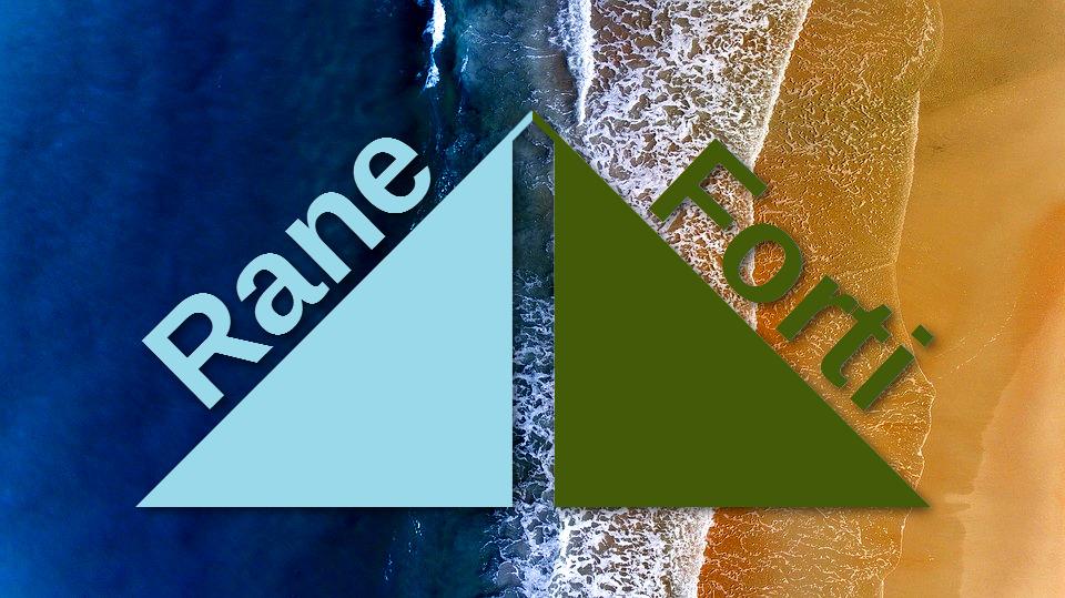 Playa y logo Rane Forti