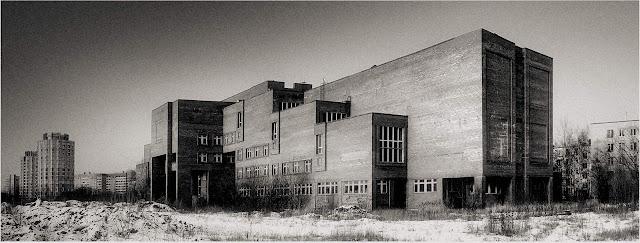 Следственная Академия РФ на ул.Костюшко в Петербурге, 1985г.
