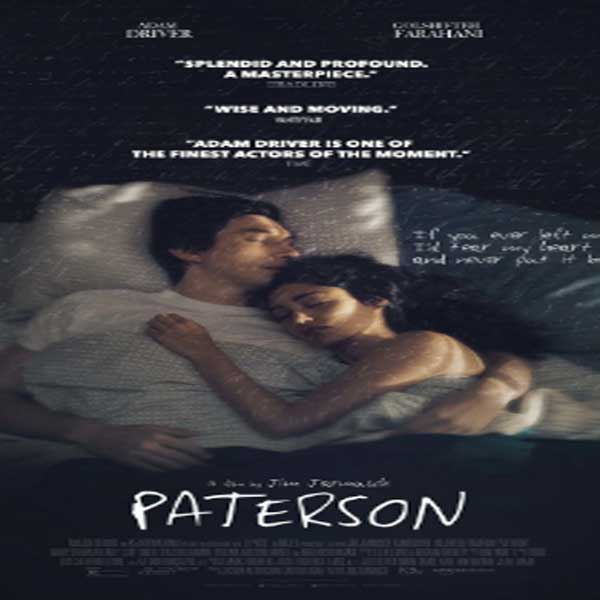Paterson, Film Paterson, Paterson Trailer, Paterson Synopsis, Review, Download Poster Film Paterson 2016