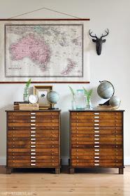 DIY specimen cabinets