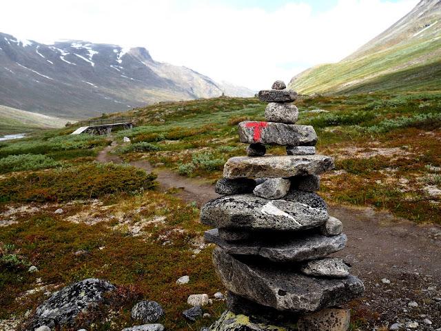 Trollové, Jotunheimen, Norsko, trek, příroda