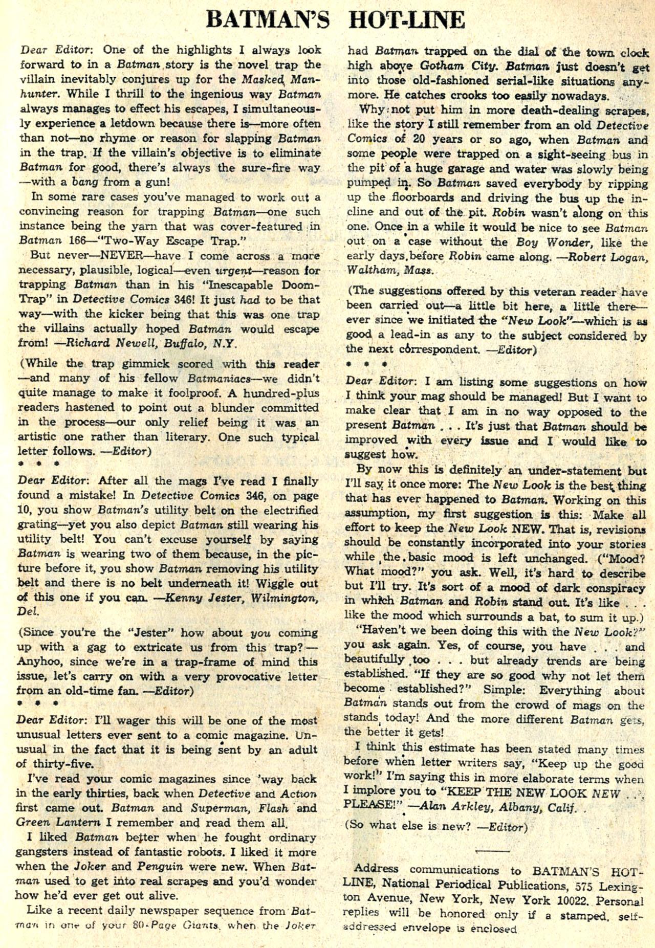 Detective Comics (1937) 350 Page 32