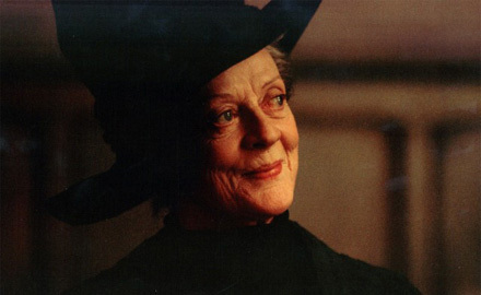 Professor McGonagall maggie smith
