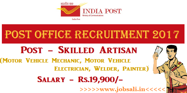 Post office Recruitment 2017, Post office jobs, Post office Vacancy
