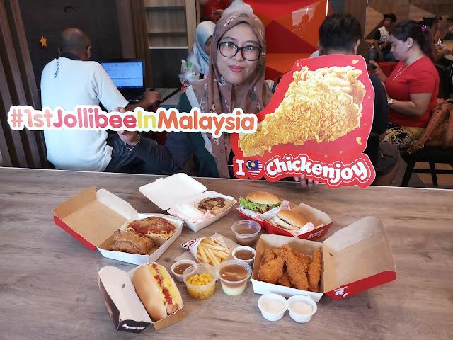 Jollibee Buka Cawangan Yang Pertama di Malaysia!