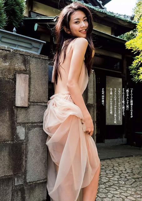 田中道子 Tanaka Michiko Weekly Playboy No 18 2018 Images