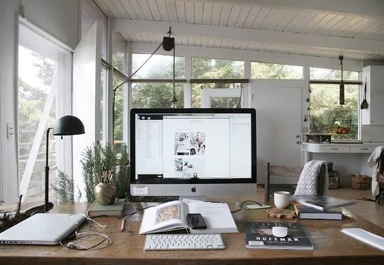 Idea kreatif Dekorasi Pejabat Di Rumah