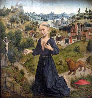 San Gerolamo nella versione di Albrecht Bouts