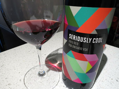 Seriously Cool Red 2013 - VQA Ontario, Canada (86 pts)