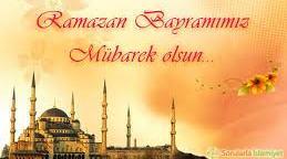 Ramazan Bayramı Kutlu Olsun