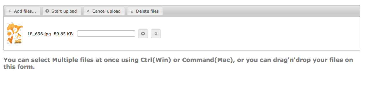 Django: Beautiful multiple files Upload Plugin using jQuery UI