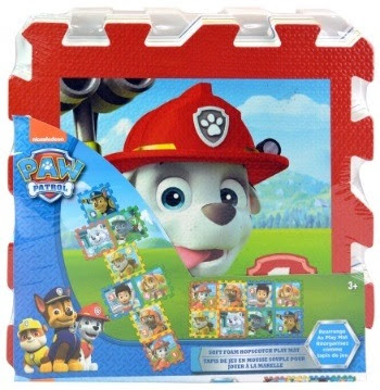 Paw Patrol 8 PC Hopscotch Play Mat