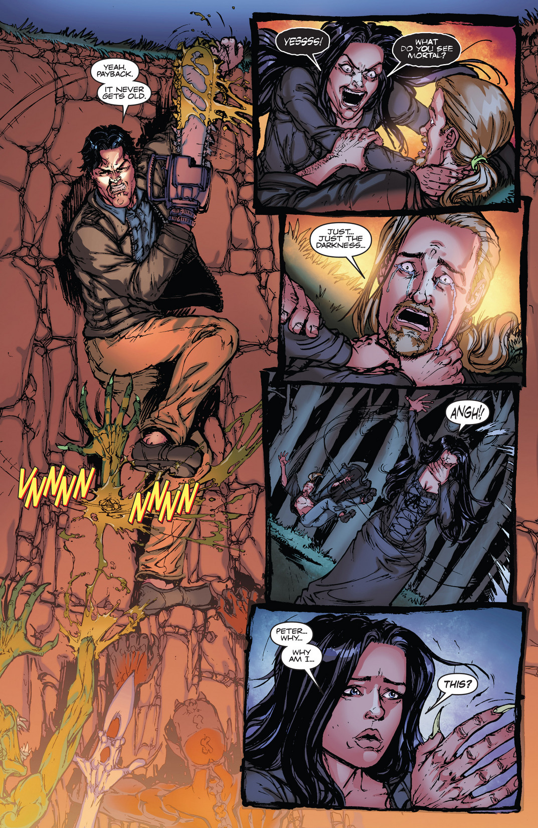 Read online Army of Darkness vs. Hack/Slash comic -  Issue #4 - 19