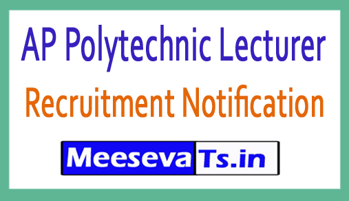 AP Polytechnic Lecturer Recruitment