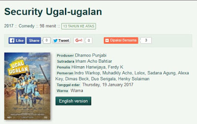 Security Ugal-Ugalan Full Movie 2017