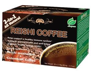 Iherb kokemuksia: Reishi Mushroom Coffee (Lakkakääpä/Ganoderma lucidum) pikakahvi