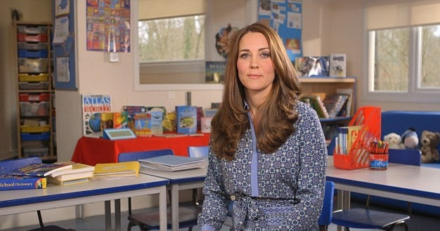 Duchess Kate: Kate Records Video Message for Children's ...