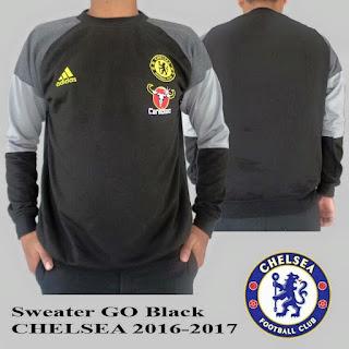 Jaket Sweater Bola Chelsea Grade Ori 2016-2017