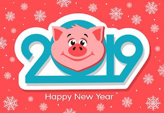 Happy New Year 2019 Wallpaper Download cho máy tính điện thoại laptop