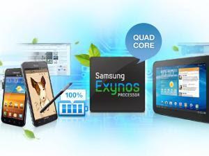 Samsung Gunakan Prosesor Quad Core di Smartphone