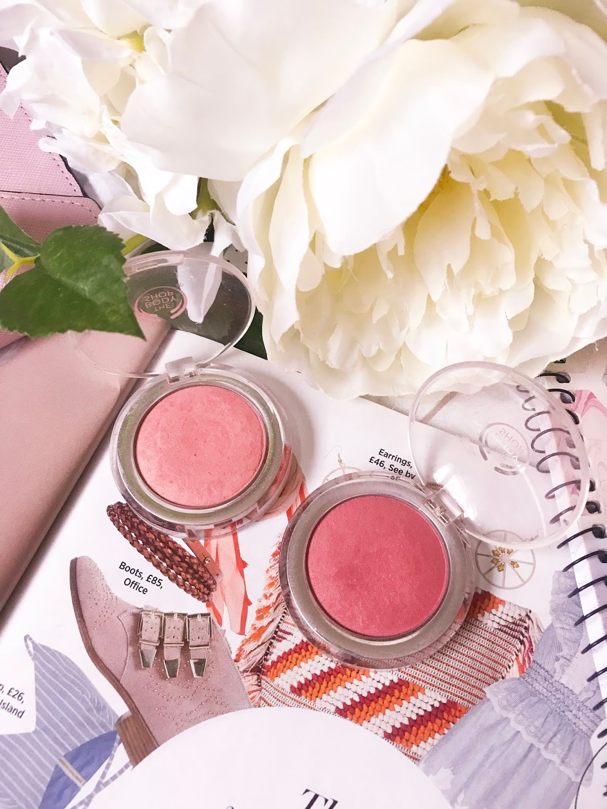 the body shop blushes