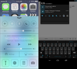 How Apple Copied Android And Windows In Its New Version iOS7 [Comparison] 3