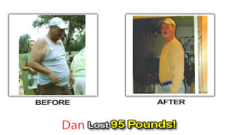 Dan use Lida Diet lose weight succeed