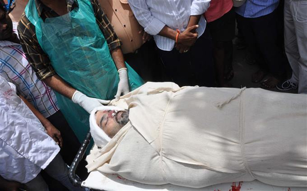 Ravi Teja Brother Bharat Cremation Photos - Telugu Frames