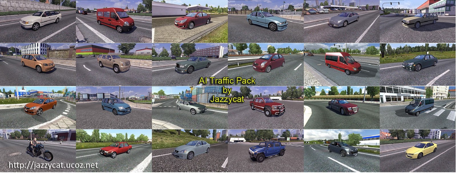 AI Traffic Pack 2.9
