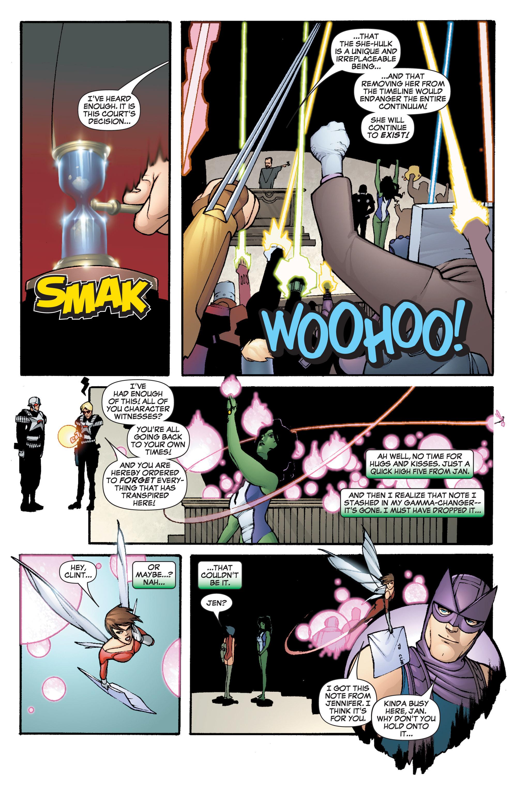 Read online She-Hulk (2005) comic -  Issue #3 - 36