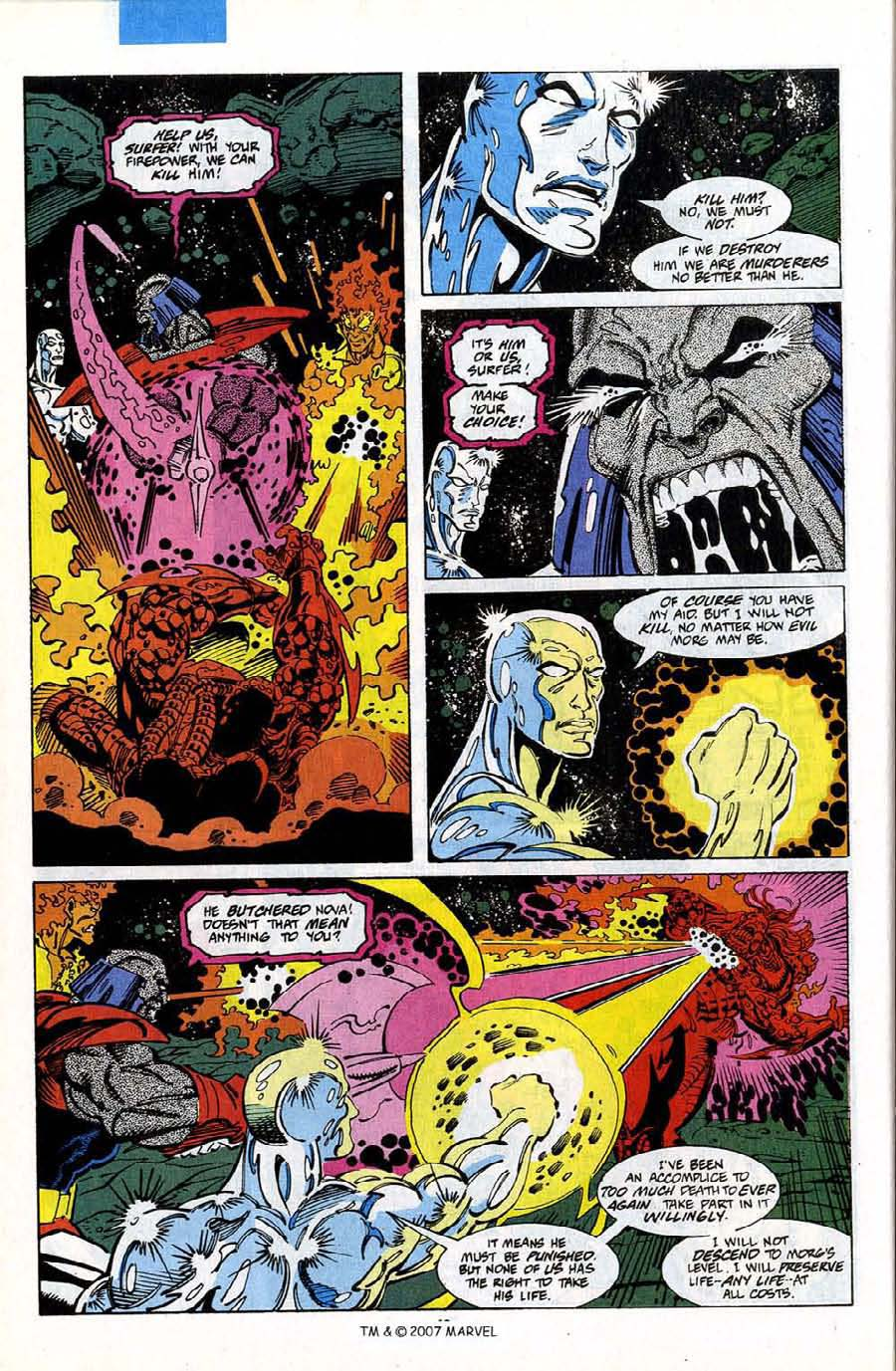 Read online Silver Surfer (1987) comic -  Issue #75 - 42