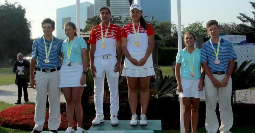 Perú logró subcampeonato en Sudamericano Prejuvenil de Golf 2018