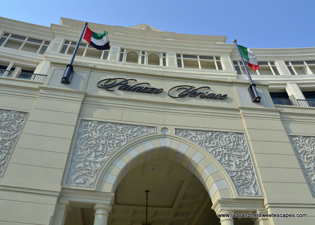 Palazzo Versace in Dubai Creek