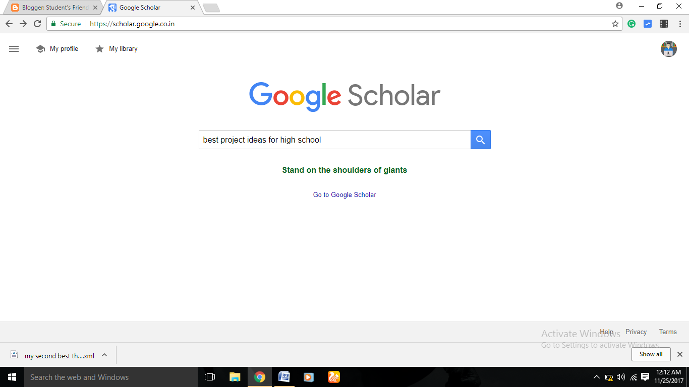 a comparison of google scholar and credoreference