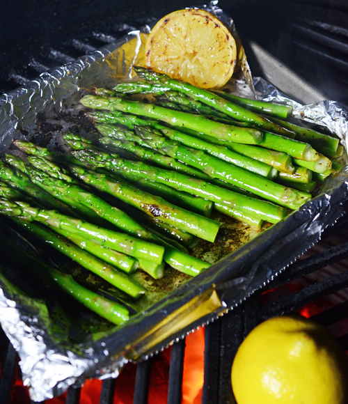 kamado side dish, easy grilled side dish