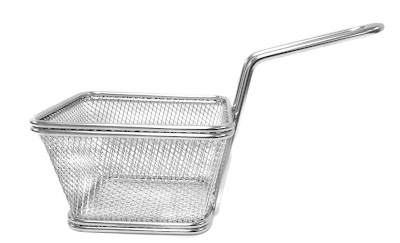 fry basket, mini fry basket, french fries mesh basket, fryer basket