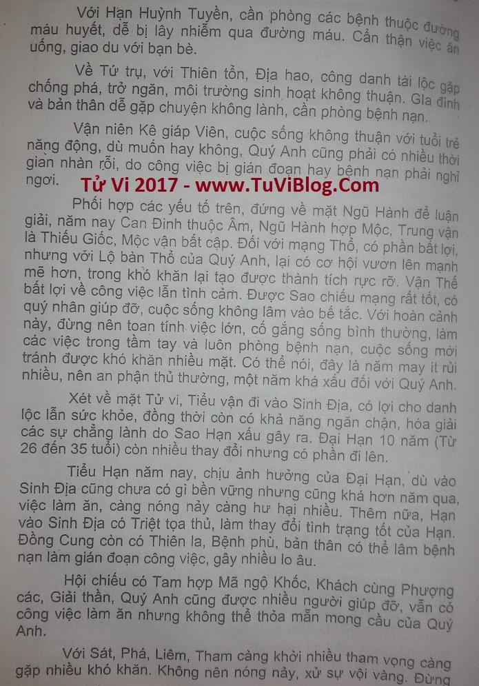 Tu vi Tan Mui nam 2017
