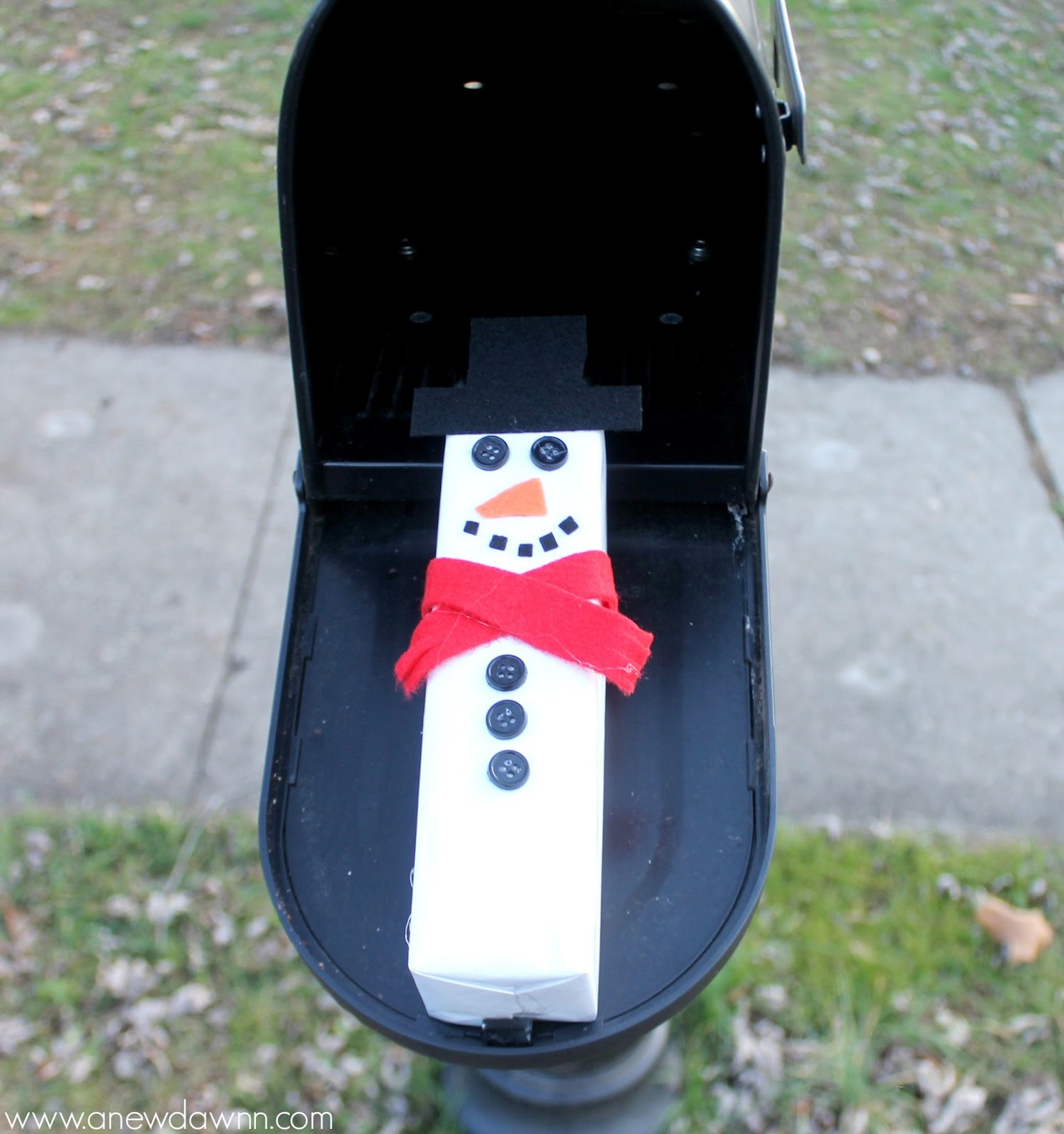 Snowman Cookie Treats