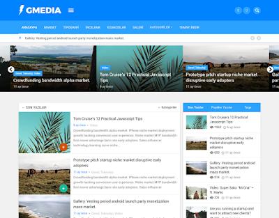 Wordpress Magazin Teması
