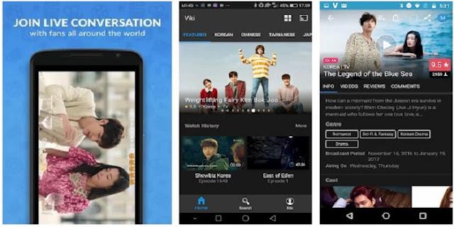Aplikasi Untuk Menonton Drama Korea