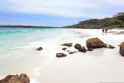 Pantai Unik dan Aneh, Putih hyams, Australia